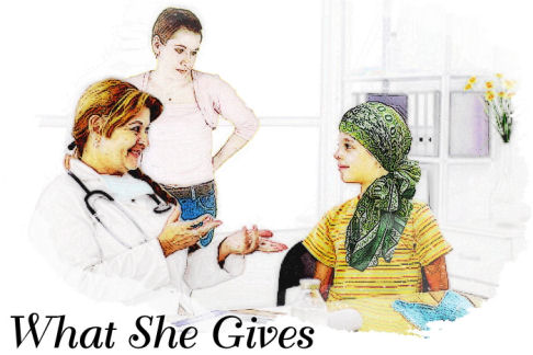 What She Gives